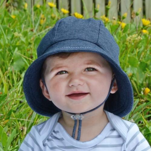 Bedhead Baby Bucket Hat Denim