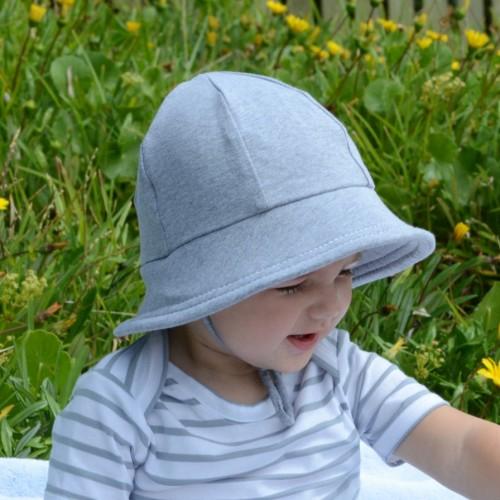 Bedhead Baby Bucket Hat Grey Marle