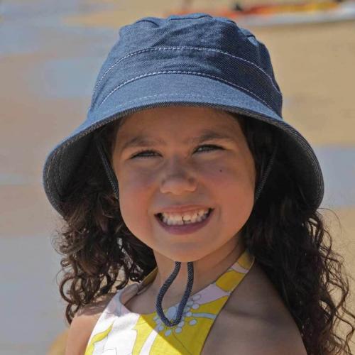 Bedhead Kids Bucket Hat Denim