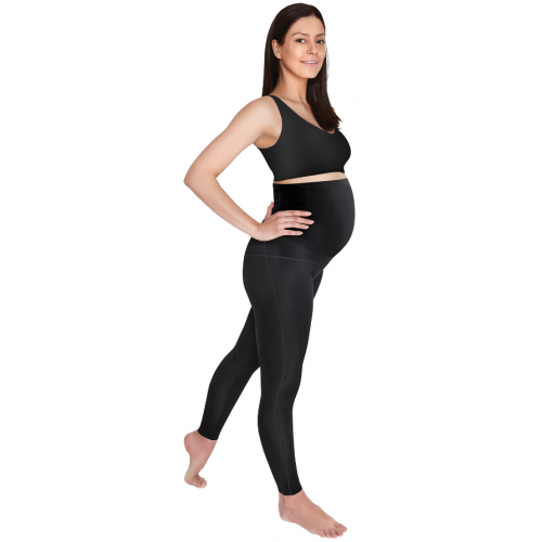 SRC Pregnancy Leggings Over The Bump Black