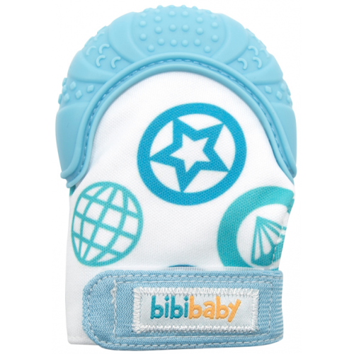 Bibibaby Teething Mitt Blue