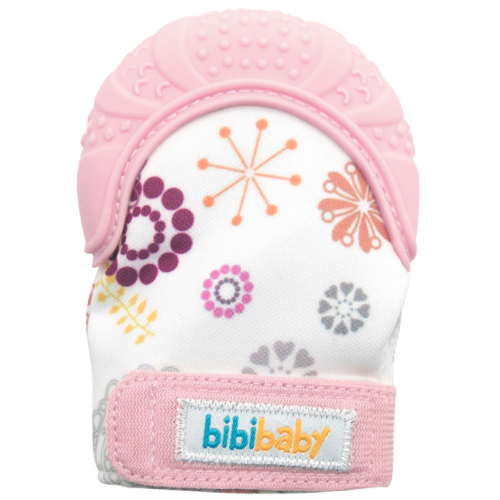 Bibibaby Teething Mitt Pink