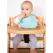 Little Woods Wipe Away Silicone Bib 2 Pack