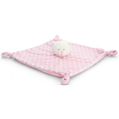Korimco Baby Bear Blanket Pink
