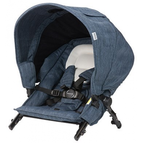 Steelcraft Strider Compact Deluxe Second Seat Moonstone