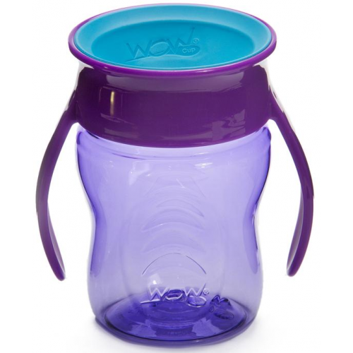 Wow Baby Spill Free Training Cup Purple