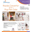 Dreambaby Royale Converta Playpen White