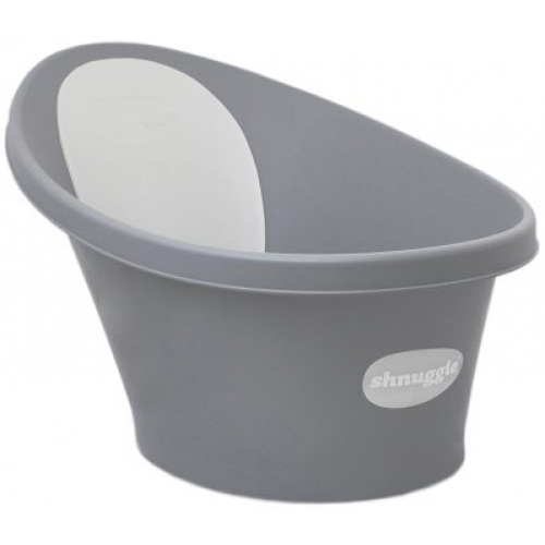 Shnuggle Baby Bath with Plug Slate