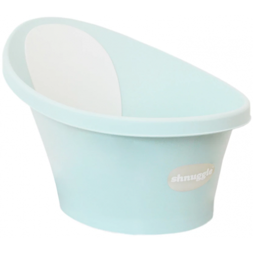 Shnuggle Baby Bath with Plug Aqua