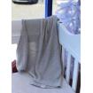 Spotty Giraffe Bassinet Pram Blanket Cotton Knit