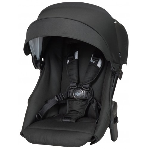Steelcraft One 2 Second Seat Carbon Black