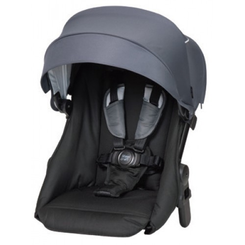 Steelcraft One 2 Second Seat Steel Grey