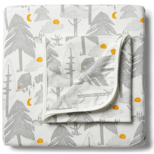 Wilson and Frenchy Cot Sheet Set Little Wander