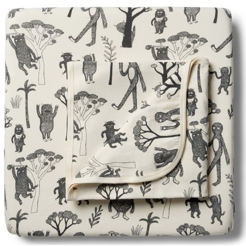 Wilson and Frenchy Cot Sheet Set Organic Wild