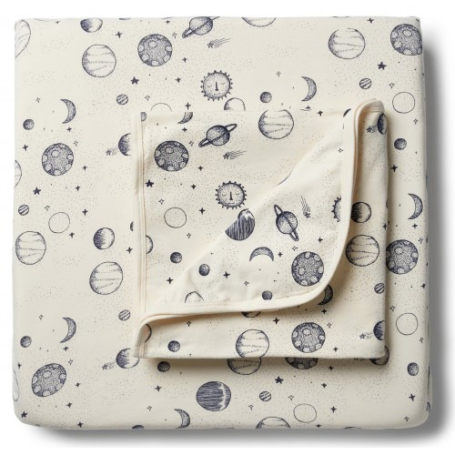 Wilson and Frenchy Cot Sheet Set Star Gazing