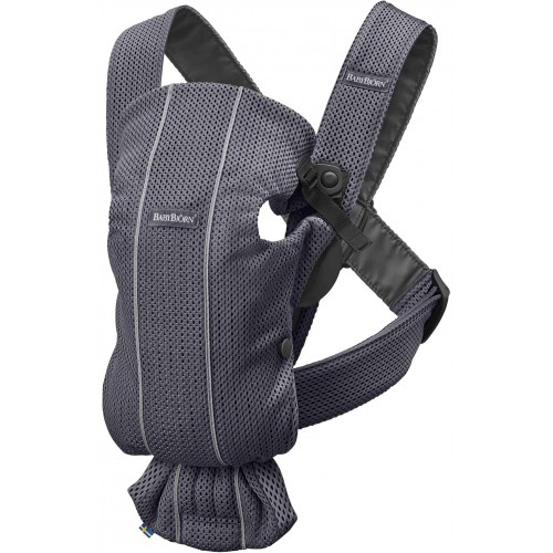 Baby Bjorn Mini Carrier 3D Mesh Anthracite