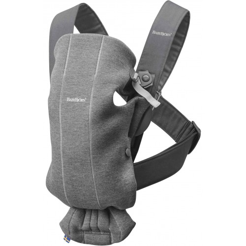 Baby Bjorn Mini Carrier 3D Jersey Dark Grey