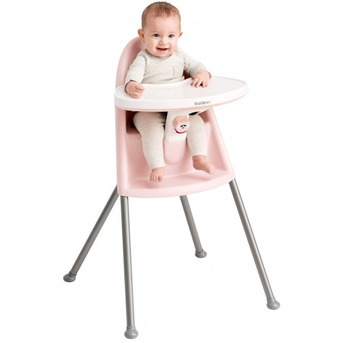 Baby Bjorn Highchair Pink Grey