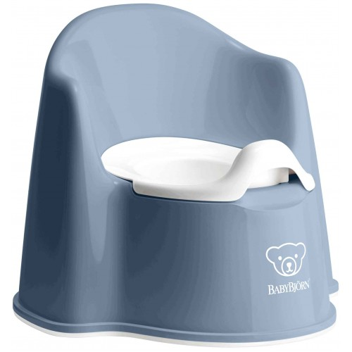 Baby Bjorn Potty Chair Deep Blue