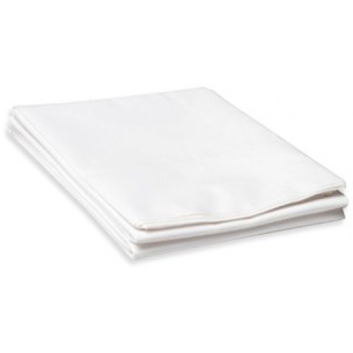 Bubbaroo Fitted Cot Sheet White
