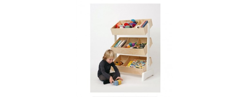 Bookcases & Toyboxes