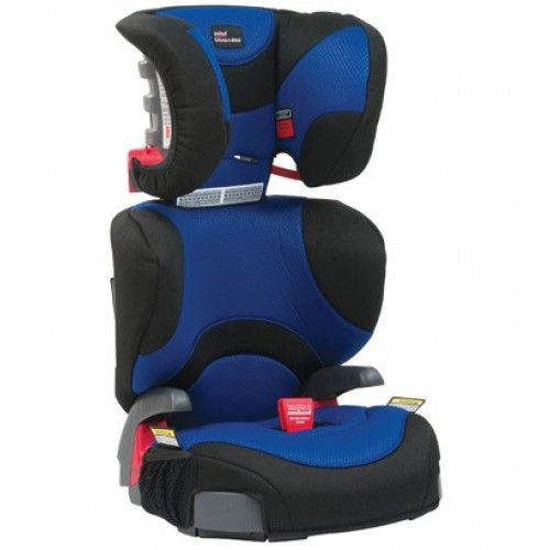 Britax Safe-n-Sound Hi Liner Booster Ink Blue