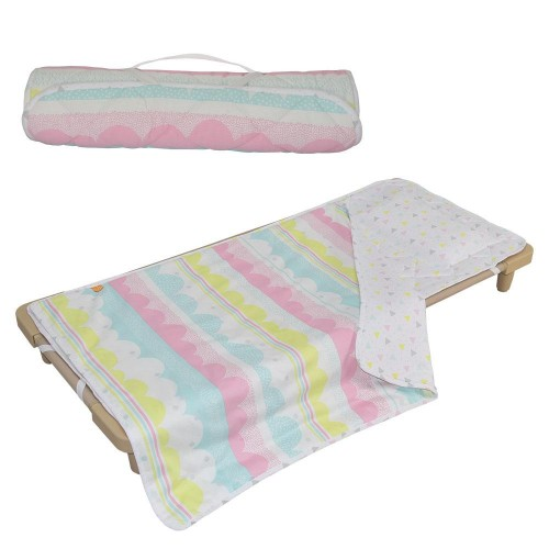 Lolli Living Ice Cream Deluxe Childcare Nap Mat