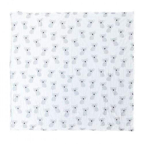 Mister Fly Koala Print Muslin Wrap