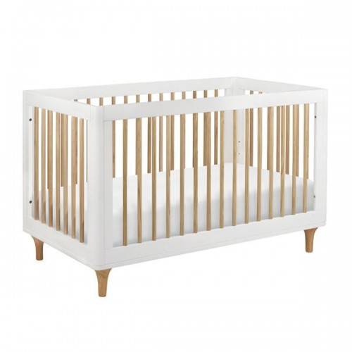 Babyletto Lolly Cot White and Natural