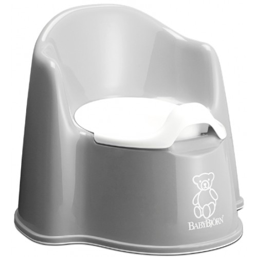 Baby Bjorn Potty Chair Grey