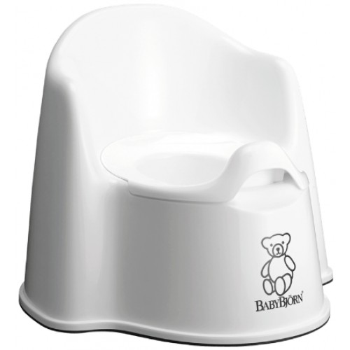 Baby Bjorn Potty Chair White