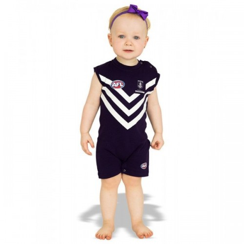 AFL Fremantle Dockers Short Footysuit