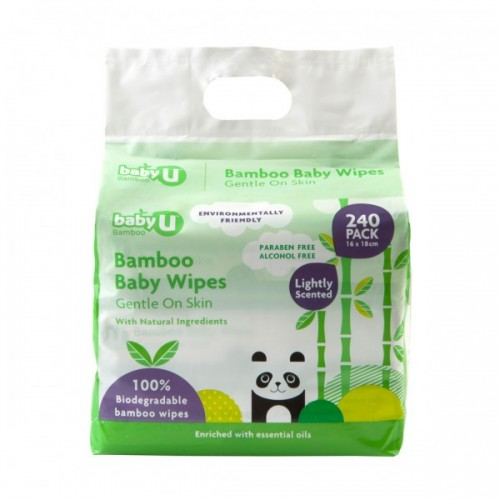 Baby U Bamboo Baby Wipes