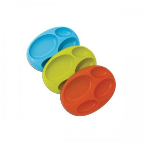 Boon Platter Nonskid Divided Plate