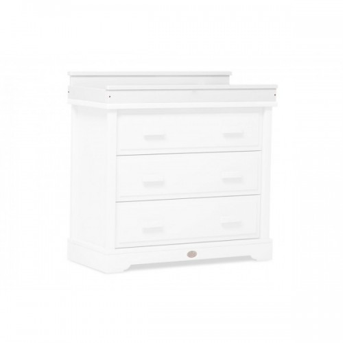 Boori Squared Changing Station for 3 Drawer Dresser White