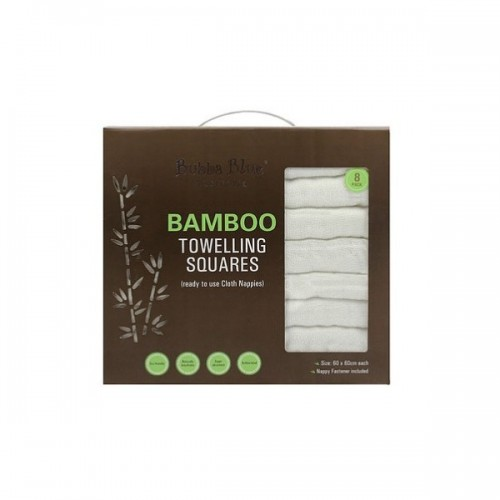 Bubba Blue Bamboo Towelling Nappies