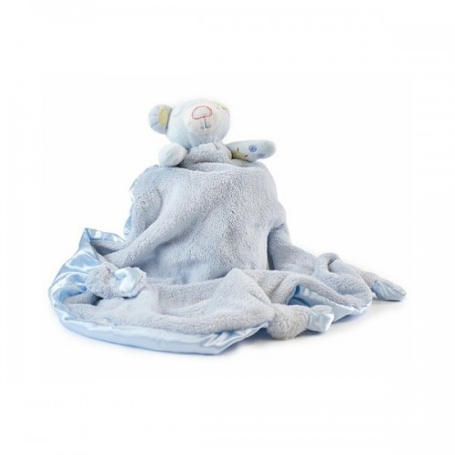 Bubba Blue Bear Security Blanket