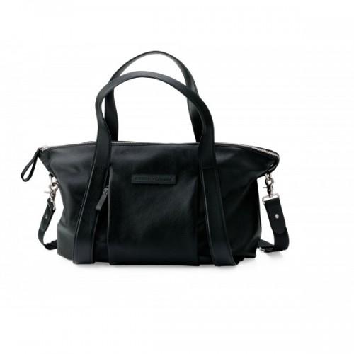 Bugaboo Storksak Plus Leather Nappy Bag