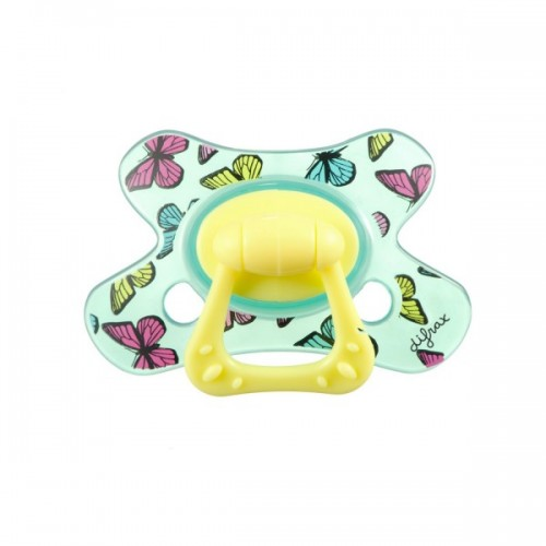 Difrax Soother 12-18mths Natural Spring