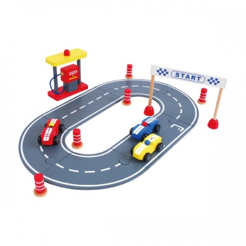 Discoveroo Car Race Set