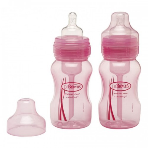 Dr Browns Wide Neck Bottle Twin Pack