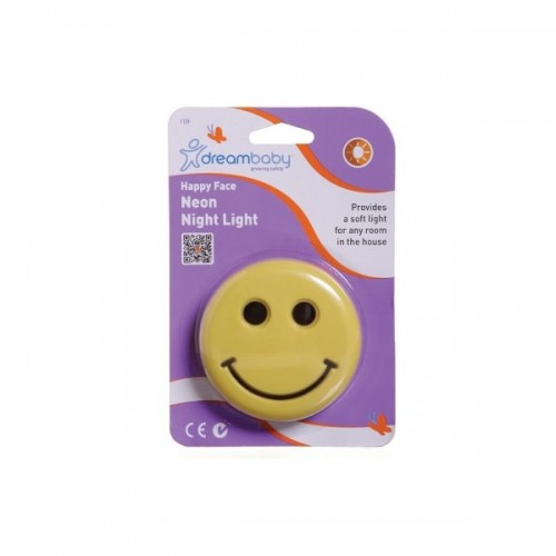 Dreambaby Happy Face Plug-in Neon Night Light