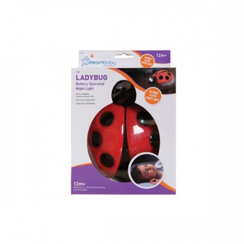 Dreambaby Lady Bug Battery Night Light