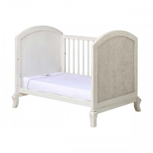 Grotime Chateau Cot And Mattress Washed White