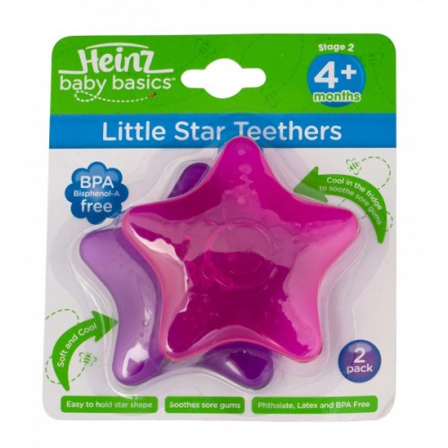 Heinz Baby Basics Little Star Teethers
