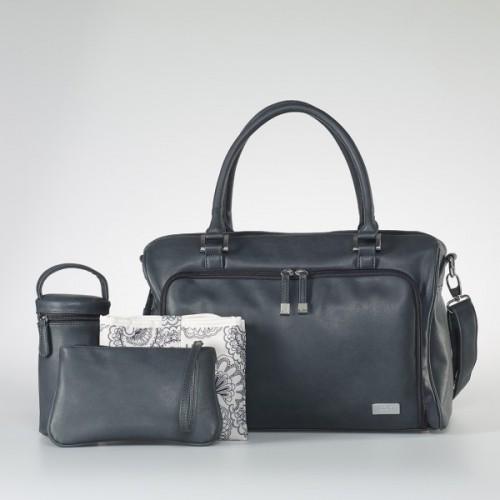Isoki Double Zip Satchel Nappy Bag