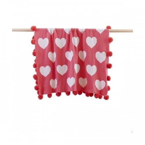 Linen n Things Heart Blanket
