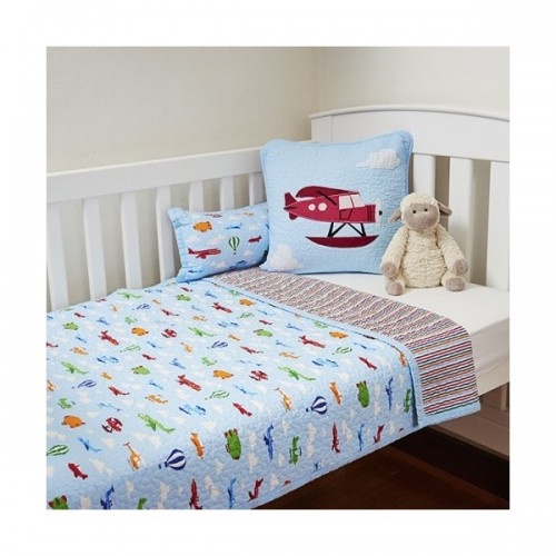 Linen n Things Planes Cot Quilt