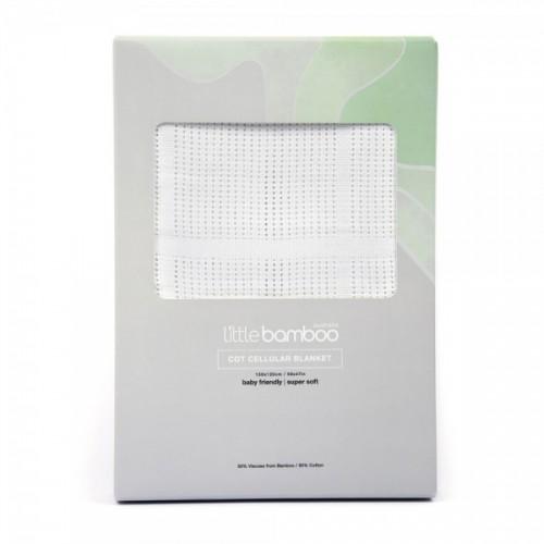 Little Bamboo Cot Cellular Blanket