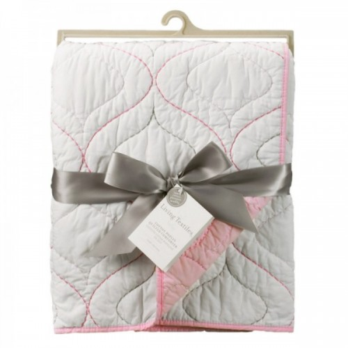 Living Textiles Cotton Poplin Quilted Comforter